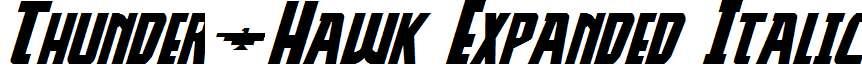 Thunder-Hawk-Expanded-Italic
