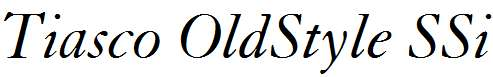 Tiasco-OldStyle-SSi-Italic-Old-Style-Figures
