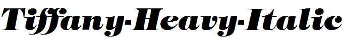 Tiffany-Heavy-Italic
