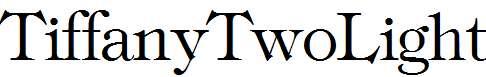 TiffanyTwoLight-Regular