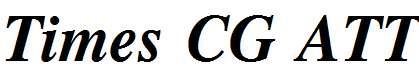 Times-CG-ATT-Bold-Italic