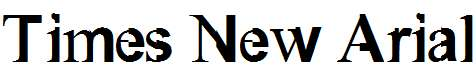 Times-New-Arial