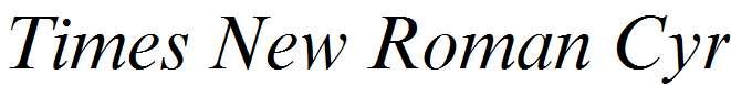 Times-New-Roman-Cyr-Italic