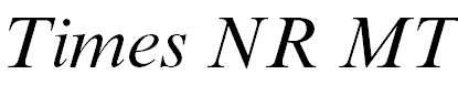 TimesNRMT-Italic