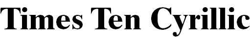 TimesTenCyr-Bold