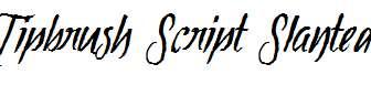 Tipbrush-Script-Slanted-