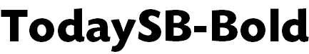 TodaySB-Bold
