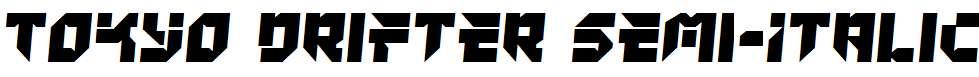 Tokyo-Drifter-Semi-Italic