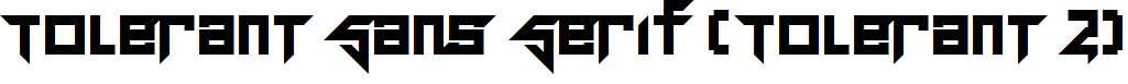 Tolerant-Sans-Serif-Tolerant-2-Regular