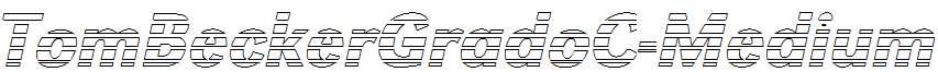 TomBeckerGradoC-Medium-Italic