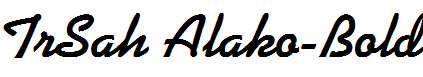 TrSah-Alako-Bold
