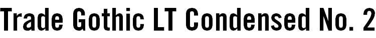 TradeGothicLT-BoldCondTwenty