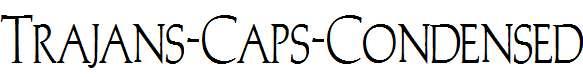 Trajans-Caps-Condensed-Normal