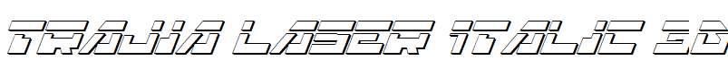 Trajia-Laser-Italic-3D