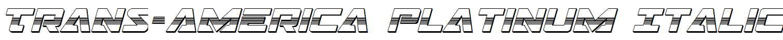 Trans-America-Platinum-Italic