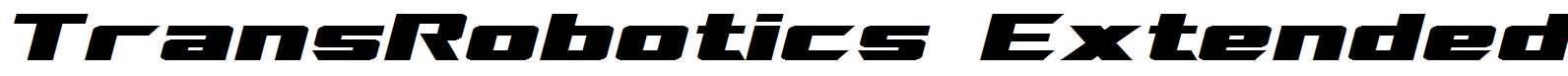 TransRobotics-Extended-Italic