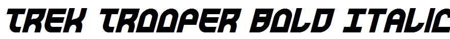 Trek-Trooper-Bold-Italic