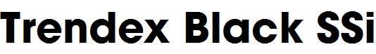 Trendex-Black-SSi-Bold