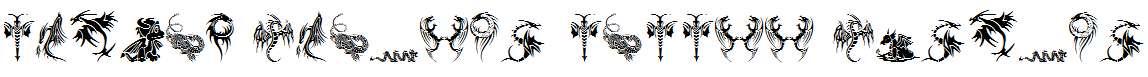 Tribal-Dragons-Tattoo-Designs