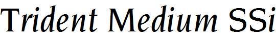 Trident-Medium-SSi-Medium-Italic