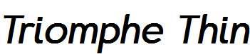 Triomphe-Thin-Italic