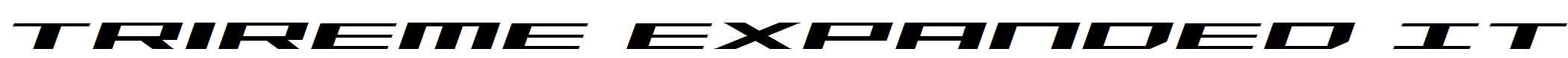 Trireme-Expanded-Italic
