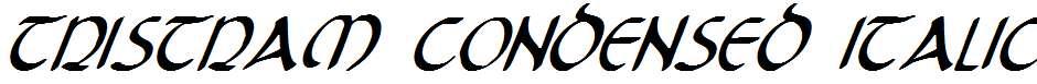 Tristram-Condensed-Italic