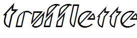Trufflette-Italic