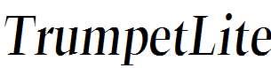 TrumpetLite-Italic