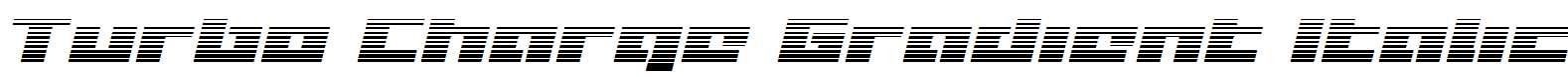 Turbo-Charge-Gradient-Italic