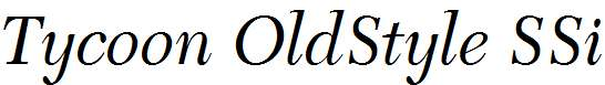 Tycoon-OldStyle-SSi-Italic-Old-Style-Figures