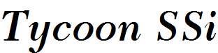 Tycoon-SSi-Semi-Bold-Italic