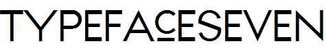 TypefaceSeven