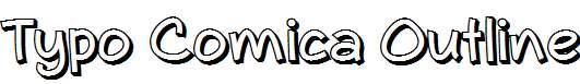 Typo-Comica-Outline