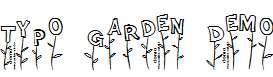 Typo-Garden-Demo