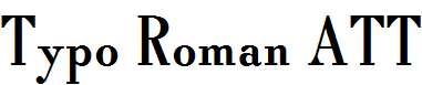 Typo-Roman-ATT