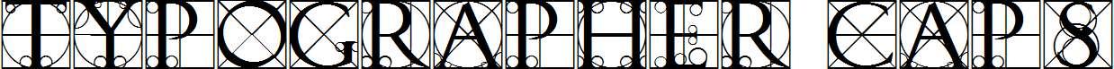 Typographer-Caps