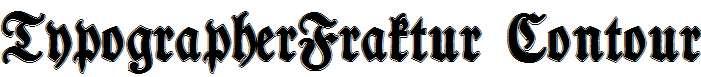 TypographerFraktur-Contour