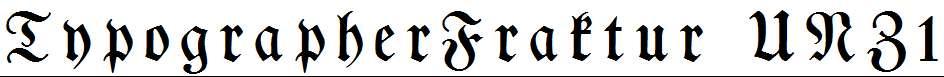TypographerFraktur-UNZ1-Medium