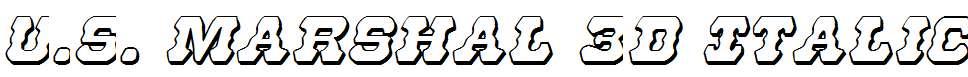 U.S.Marshal-3D-Italic