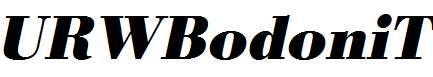 URWBodoniT-Bold-Oblique