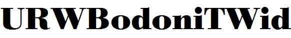 URWBodoniTWid-Bold