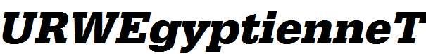 URWEgyptienneT-Bold-Oblique