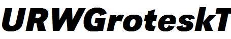 URWGroteskT-Bold-Italic