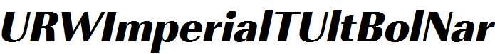 URWImperialTUltBolNar-Oblique