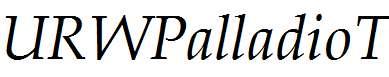 URWPalladioT-Italic