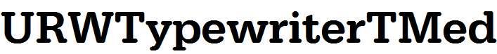 URWTypewriterTMed
