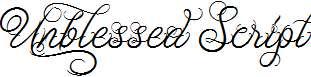 Unblessed-Script