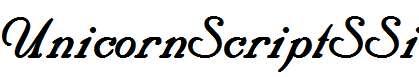 UnicornScriptSSi-Bold