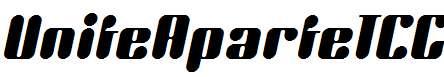 UniteAparteICG-Italic